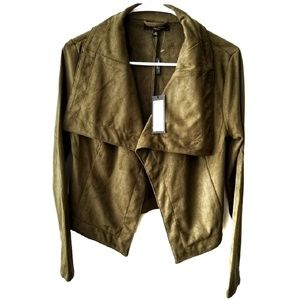 Romeo & Juliet Couture Suede Jacket